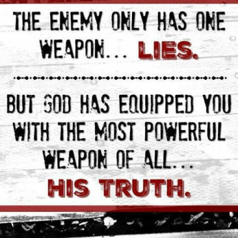 enemy His truth